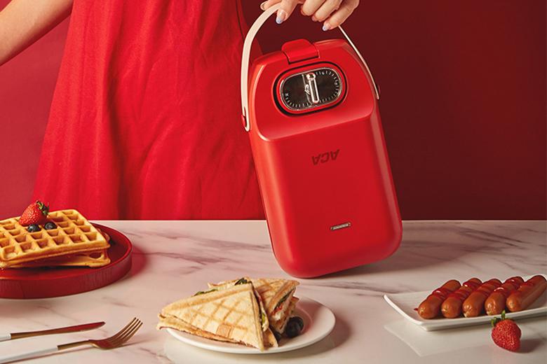 ACA三明治早餐轻食机免费试用,评测
