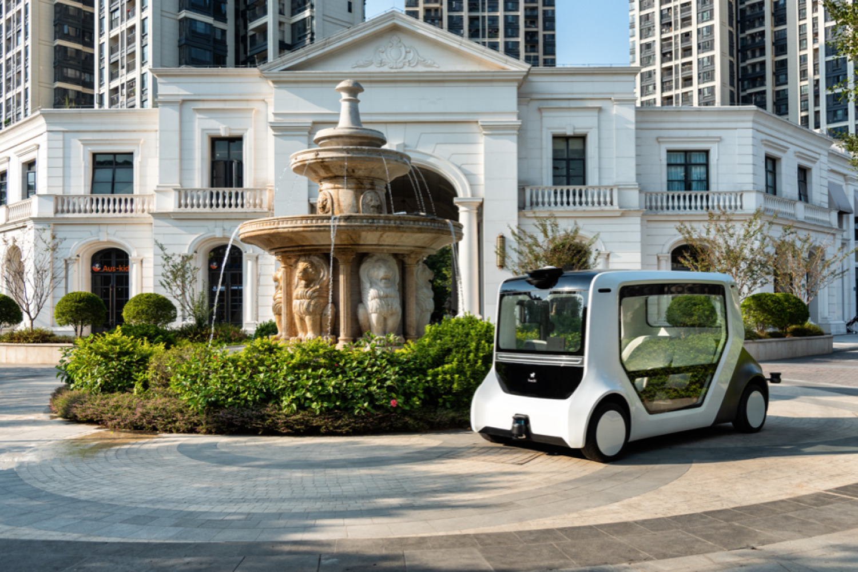 实地,让无人驾驶平民化变成实际--hachi auto