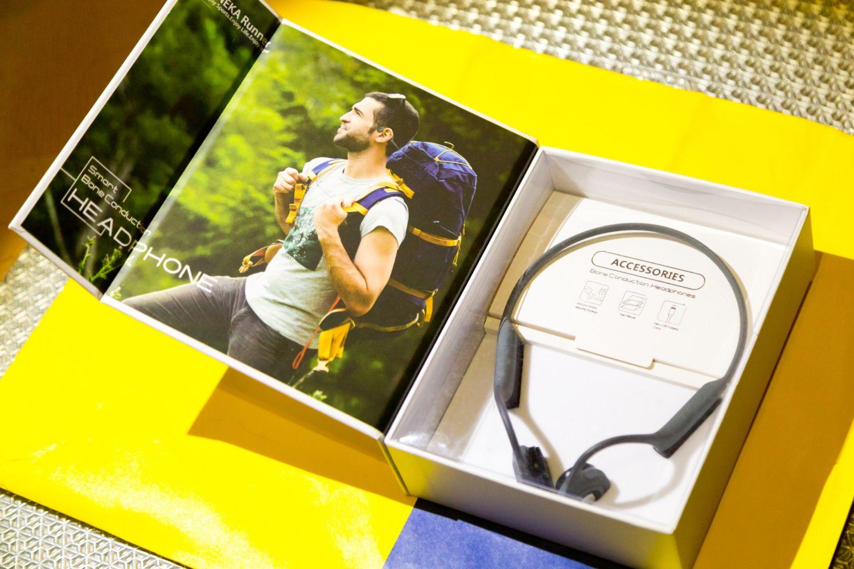 运动健身新选择南卡骨传导蓝牙耳机