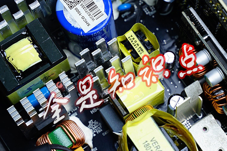 涨点PC电源的知识!HCG1000Extreme拆解实例