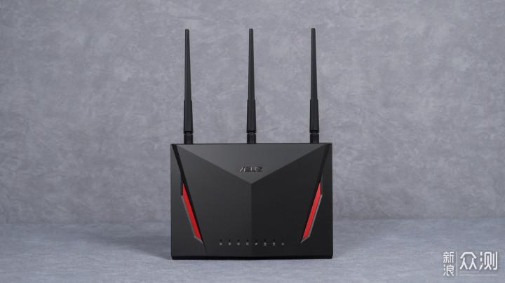 我宅但我忙着呢 华硕RT-AC86U无线路由器体验_新浪众测