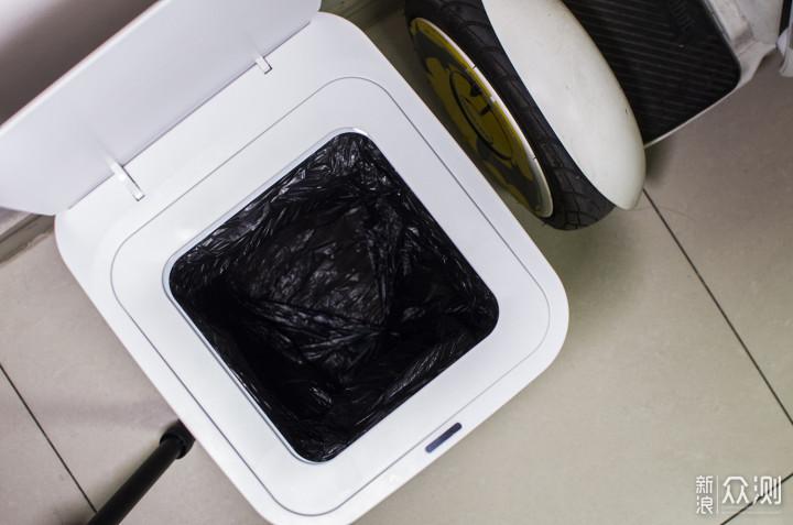 乐色了无痕、卫生更智能:拓牛智能垃圾桶T1_新浪众测