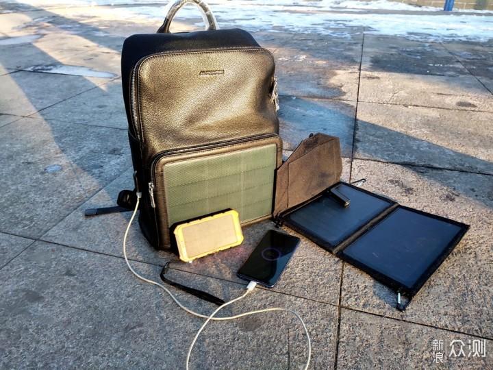 极狐薄膜太阳能发电背包:只要有光 包你有电_新浪众测
