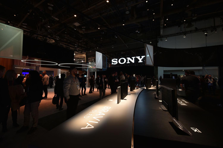 2020年度CES现场直击:索尼电视现场篇