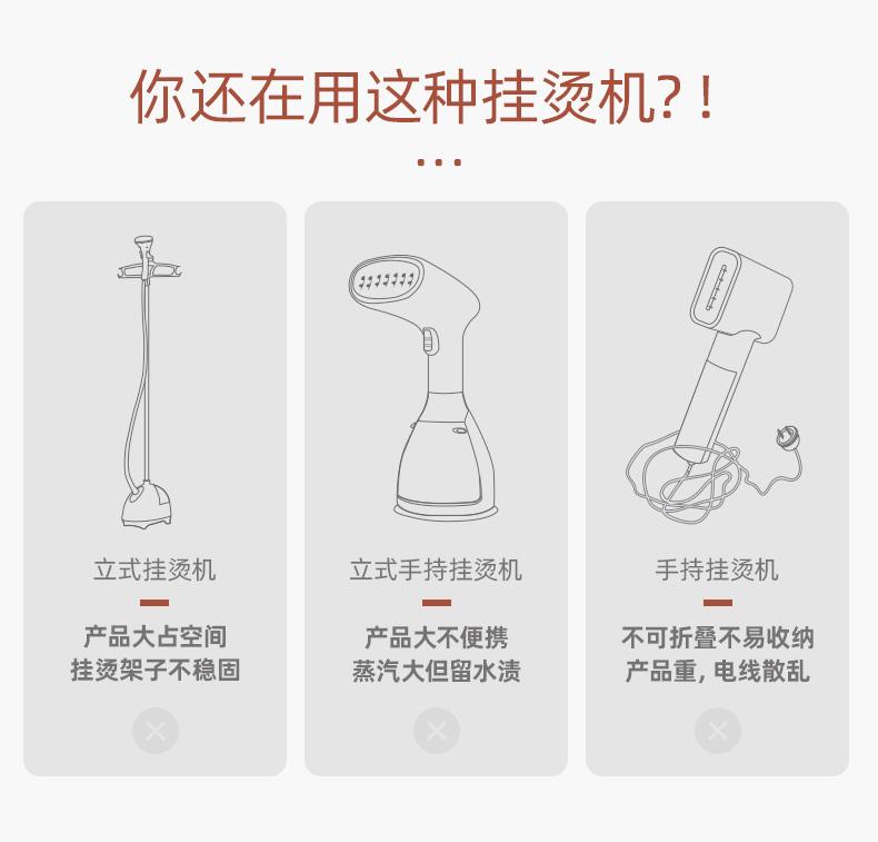 【轻体验】东菱手持挂烫机免费试用,评测