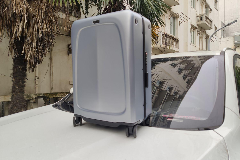 见过跟随行李箱吗?OVIS智能跟随行李箱简评