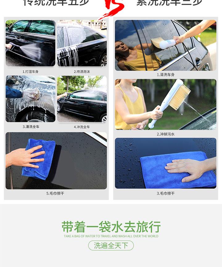 【轻众测】素洗便携洗车器免费试用,评测