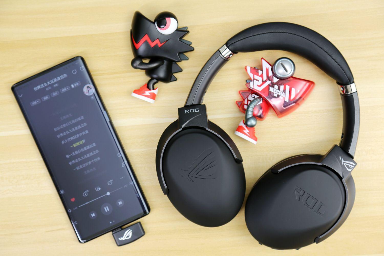 ROG首款Type-C 2.4G无线游戏耳机:ROG风行go