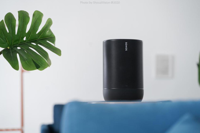 Sonos Move音响:好音质可随行,但智能化乏力