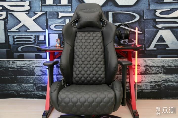 简约优雅气质高冷的电竞椅:安德斯特天启王座_新浪众测