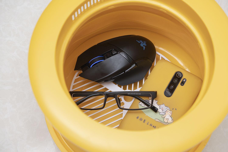 洗衣机烘干功能的钱省下了:三维猫烘干消毒机