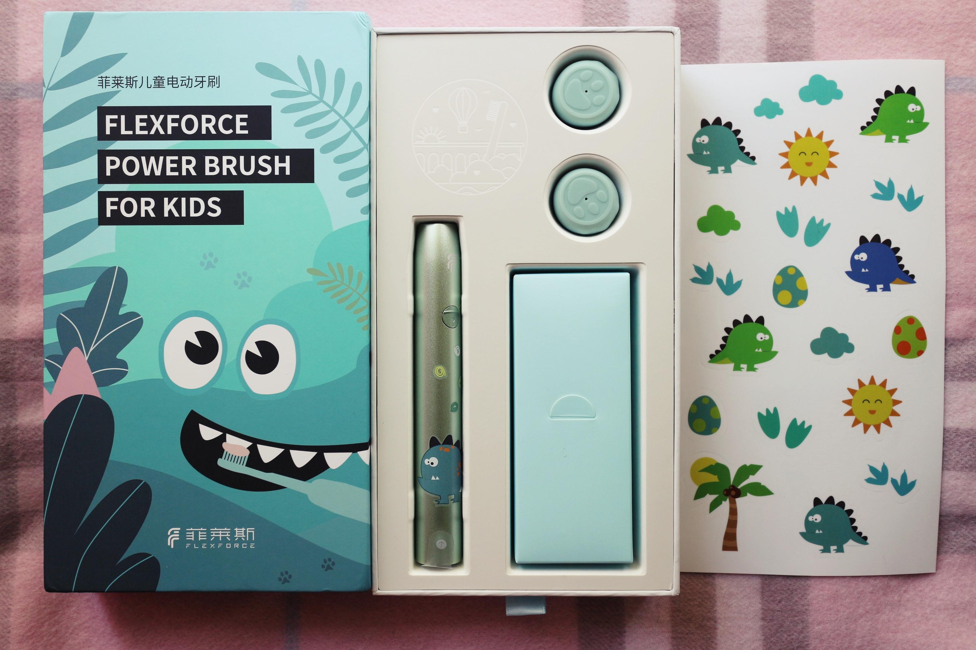 菲莱斯K1儿童电动牙刷入手体验