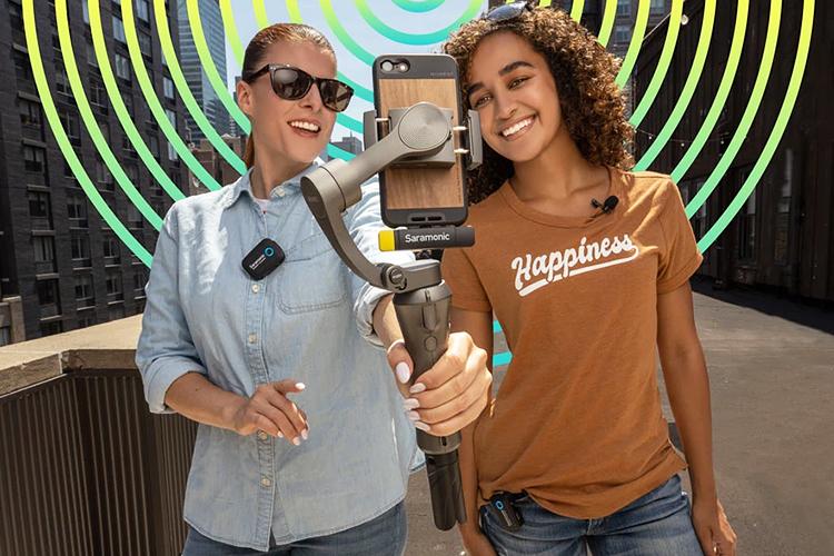 Saramonic枫笛无线麦克风套装免费试用,评测