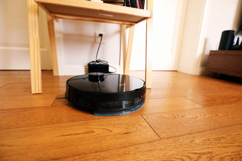 双边刷 大吸力 美的扫拖一体机器人使用体验