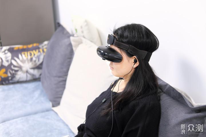 躺着也能看3D——GOOVIS 头戴影院体验分享_新浪众测