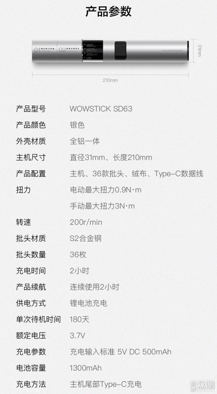 WOWSTICK SD 螺丝刀套装_新浪众测