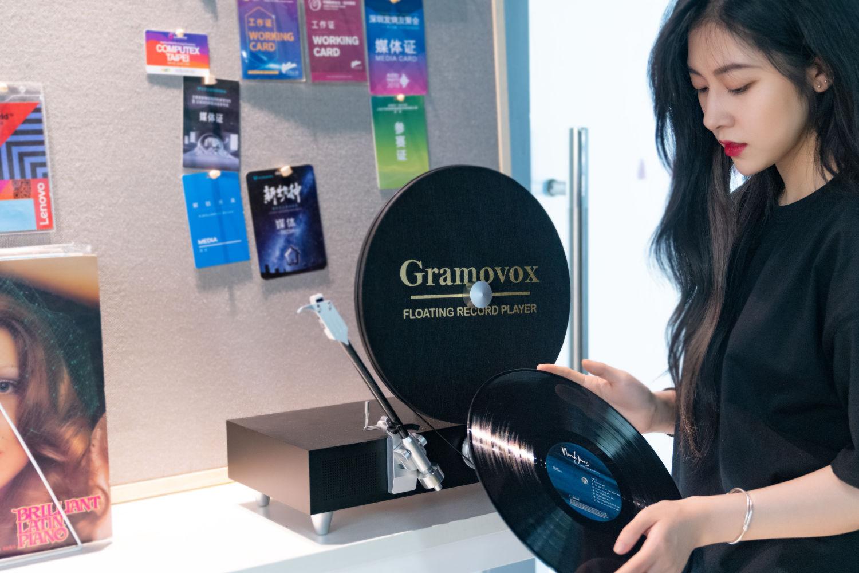 我的第一台唱机,Gramovox竖式黑胶唱机开箱