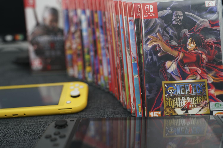 Switch死磕粉的新游戏与装备分享(篇一)