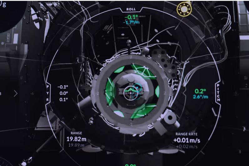 SpaceX出了个飞船模拟器,你对接几次能成功