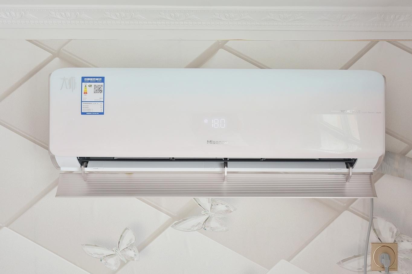 家里的智慧气候管家,海信健康家X8新风空调