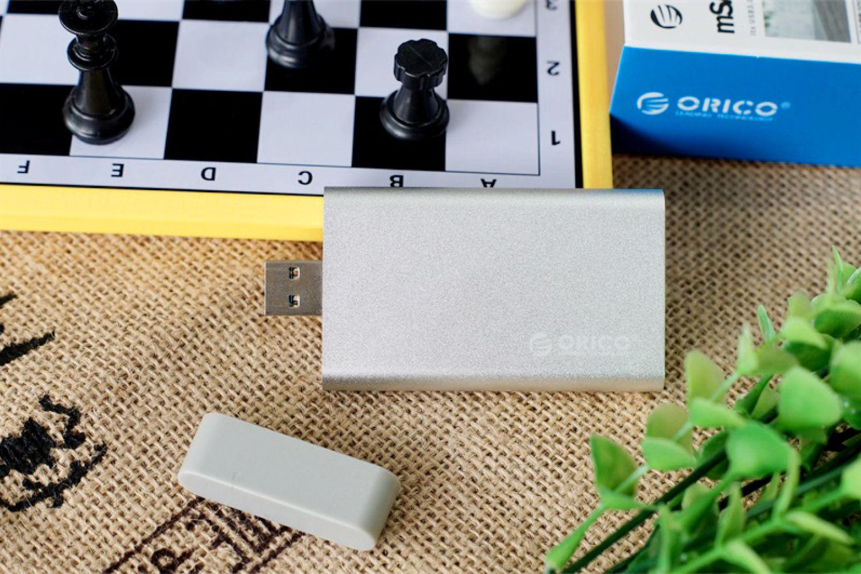 ORICO mSATA硬盘盒:低成本改装小巧移动硬盘