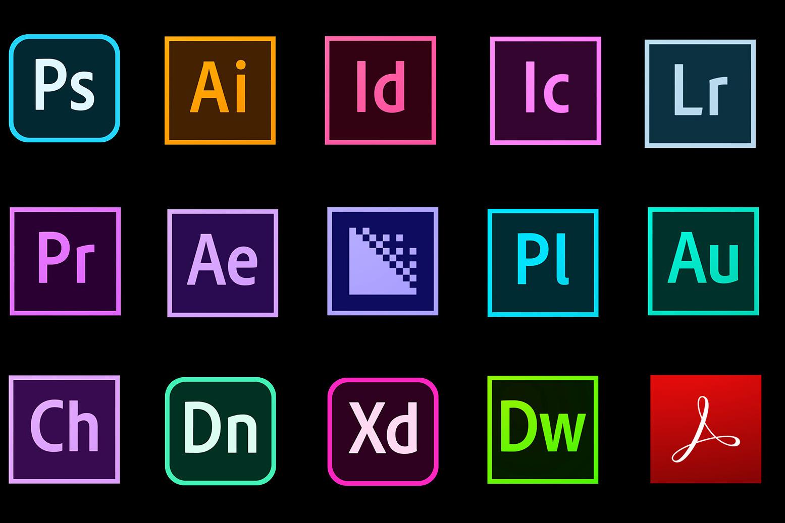 三分钟全面知晓Adobe所有的主流软件(mac版)