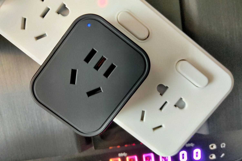 支持远程电脑开关机的向日葵开机插座计电量版