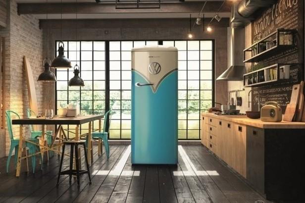 时尚是个轮回,这样的复古冰箱真的一眼就爱上