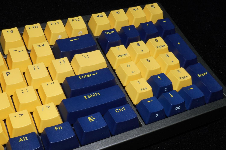 双拼的诱惑:FirstBlood B16琥珀 机械键盘
