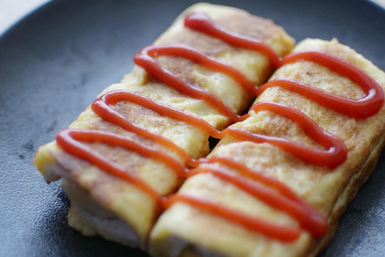 #七月#懒人早餐 :香蕉土司卷,三分钟就搞定!