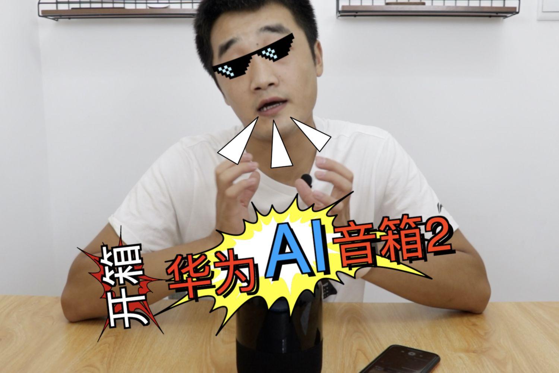 #七月#开箱华为AI音箱2:这货到底智不智障?