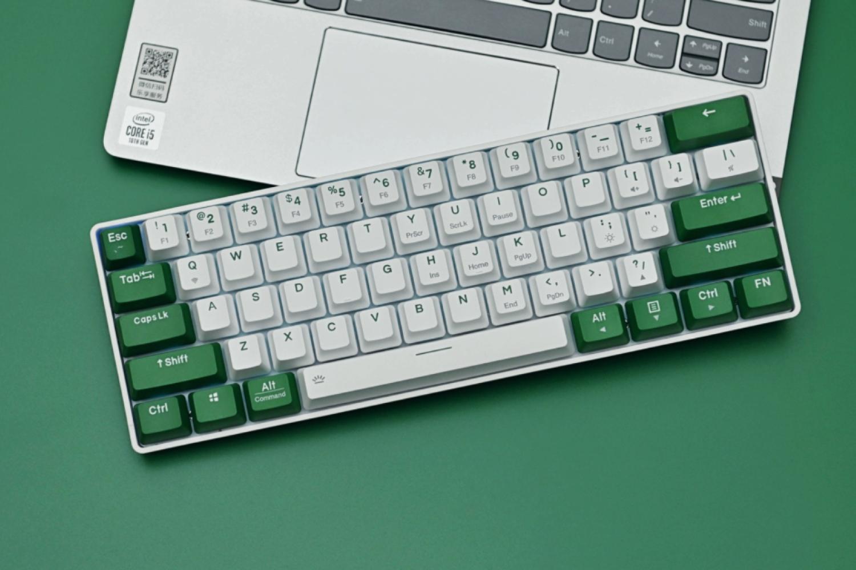小身材大味道 达尔优EK861蓝牙双模机械键盘