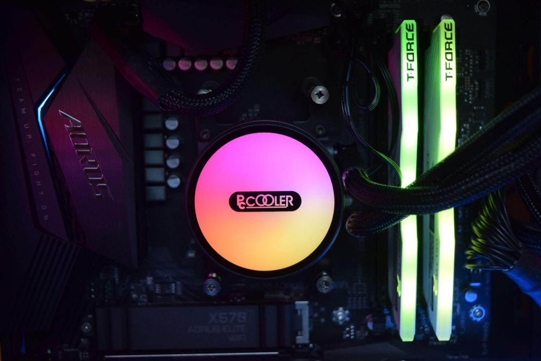 稳压3800X,超频三凌镜GI-CX360水冷装机点评