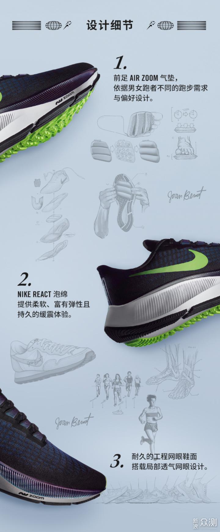 #我的运动指南#跑步党的Nike Pegasus升级之旅_新浪众测