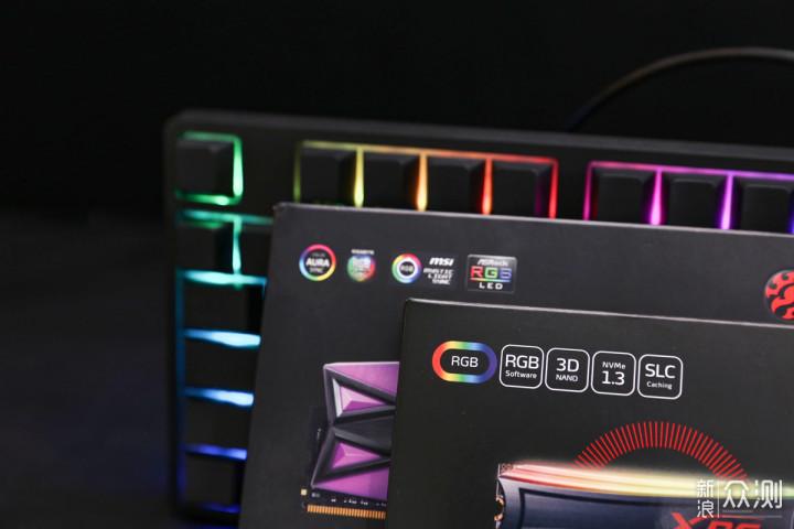 全方位,将RGB进行到底,威刚XPG龙耀新品_新浪众测