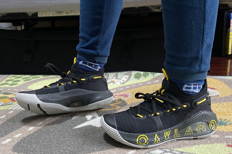#我的运动指南#Under Armour Curry 6篮球鞋