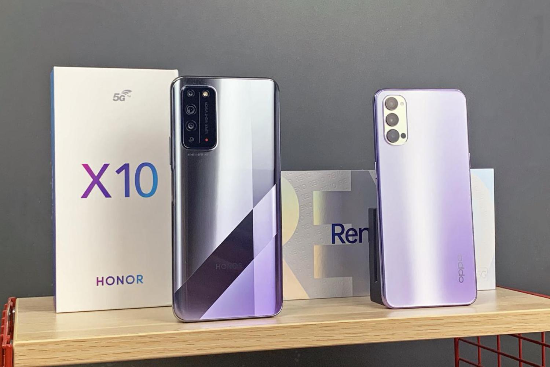 荣耀 X10 VS OPPO Reno4 手机暗拍盲测