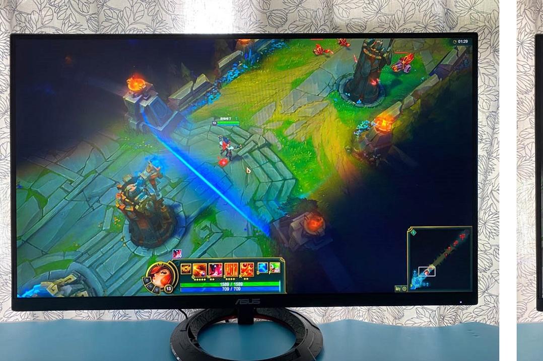 华硕27英寸游戏显示器VG279Q1R使用感受