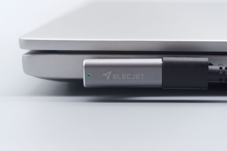 花式给笔记本充电!ELECJET MagJet磁吸充电头