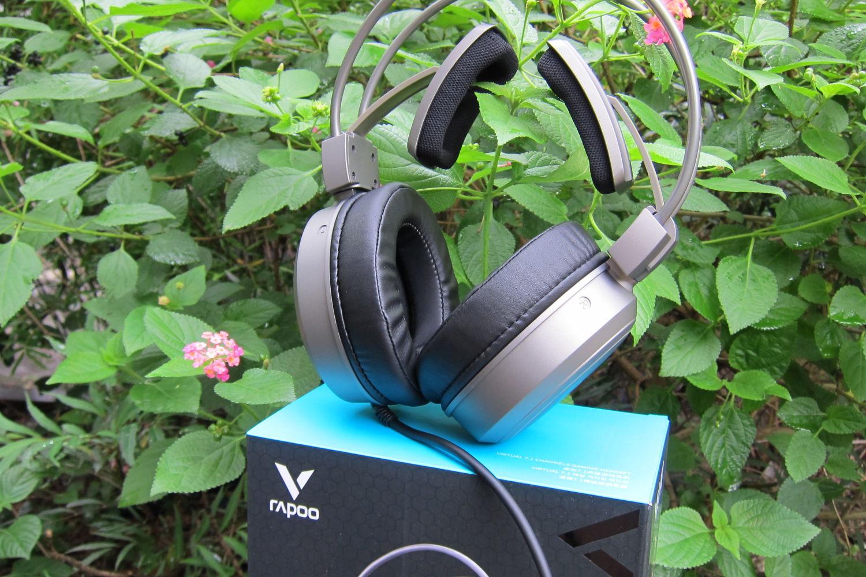 不止是虚拟7.1声道,雷柏VH610头戴式游戏耳机