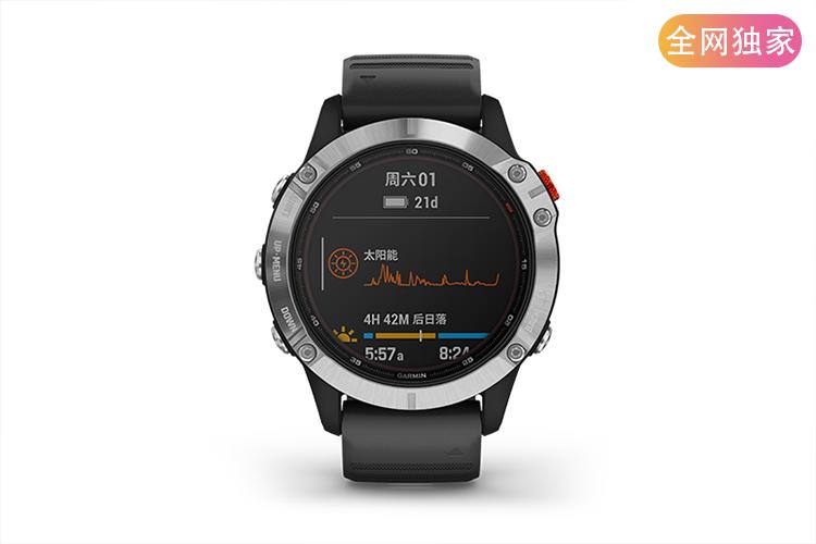 佳明Fenix 6太阳能腕表免费试用,评测