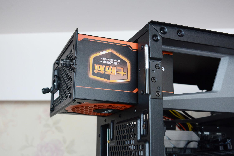 七防芯?超频三600W白牌非模组电源 装机体验