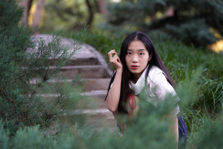 出佳为尼,北京人像外拍的摄影器材轻体验