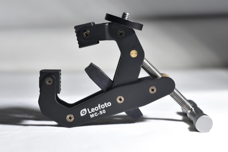 脚架里的独行侠——MC-50大力夹钳式脚架测评