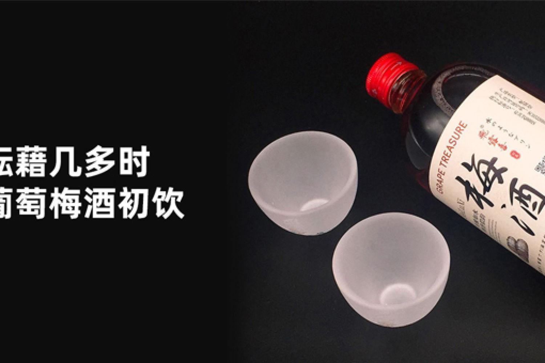 #创作新星#不知酝藉几多时:飞露喜葡萄梅酒!