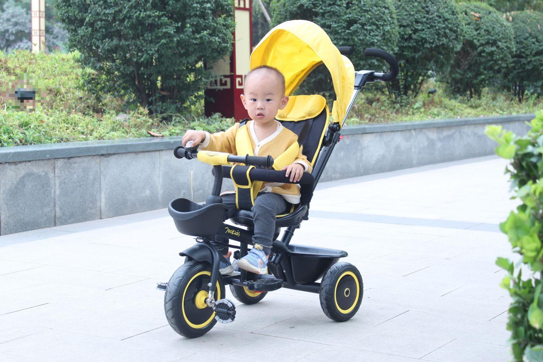 多种模式、随心切换的柒小佰酷玩三轮车体验
