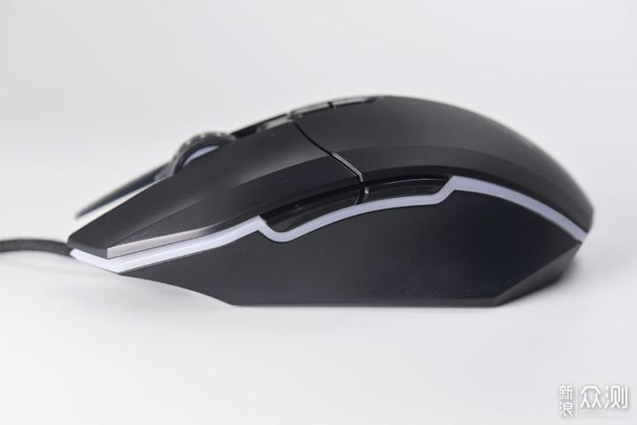 轻量化水桶型游戏鼠-达尔优EM910_新浪众测