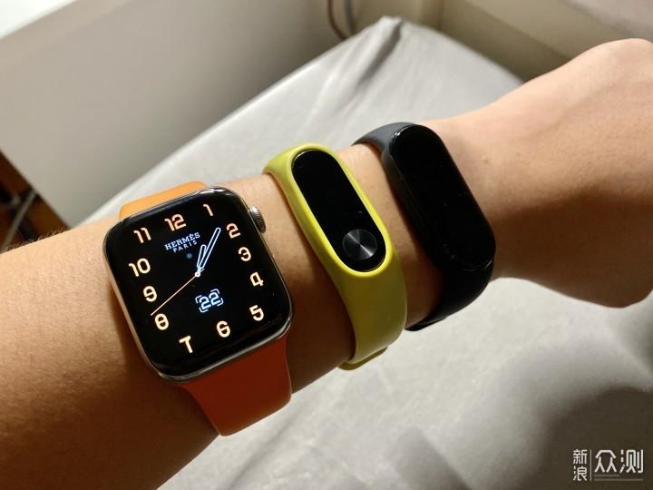 穿戴体验:爱马仕Apple Watch 4和小米手环5_新浪众测