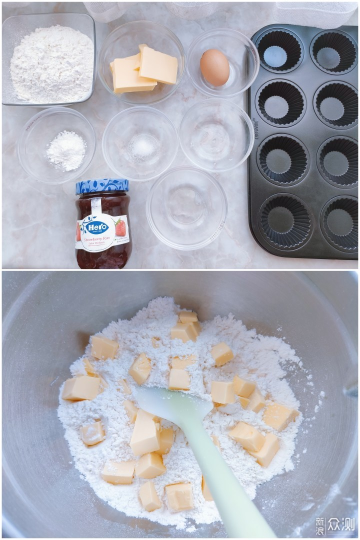 应景万圣节,自制小甜品,鬼脸草莓派_新浪众测