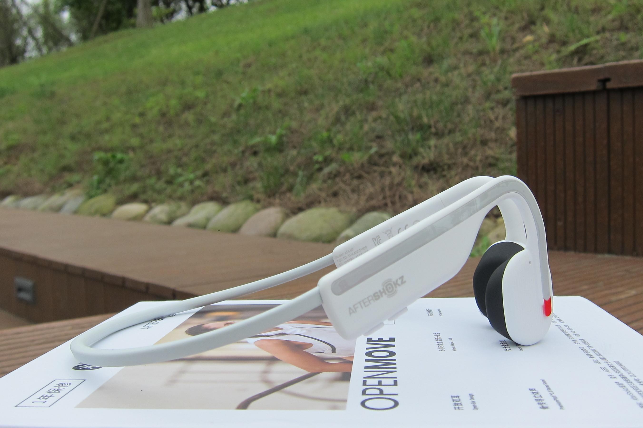 不止是更舒适一些,韶音OpenMove骨传导耳机